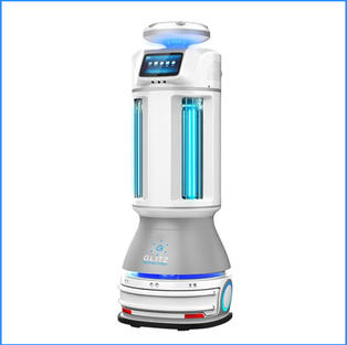 Spray + UV Robot
