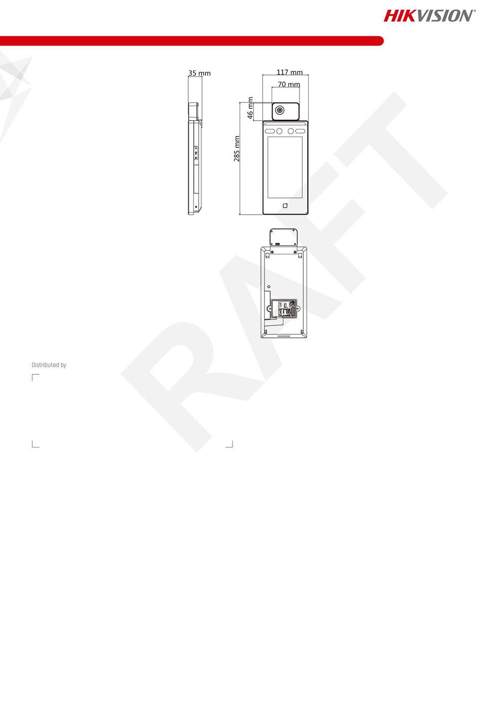 DS-K1TA70MI-T Face Recognition Terminal_