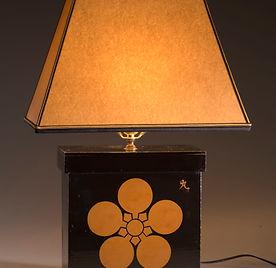 Black Lacquer Lamp