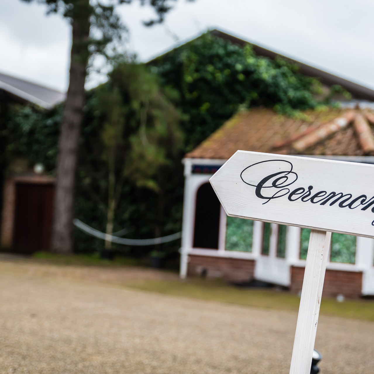 Fay Wedding - Thursford Collection at the Garden Pavilion, Norfolk. Ceremony