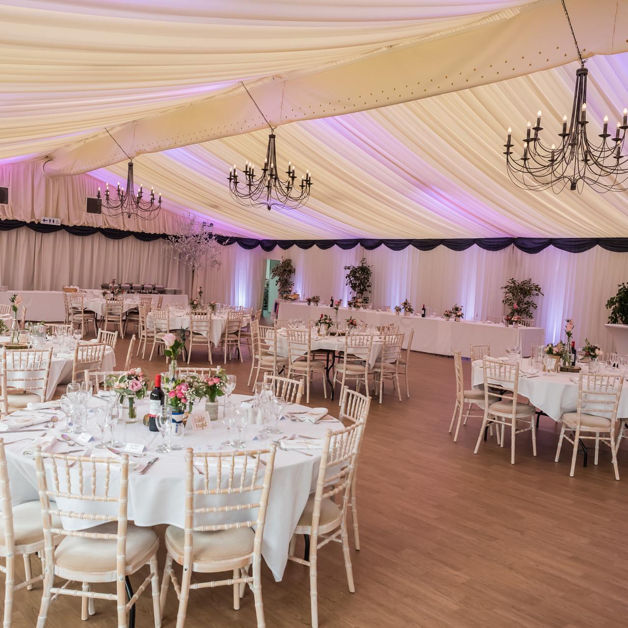 Fay Wedding - Thursford Collection at the Garden Pavilion, Norfolk. Reception