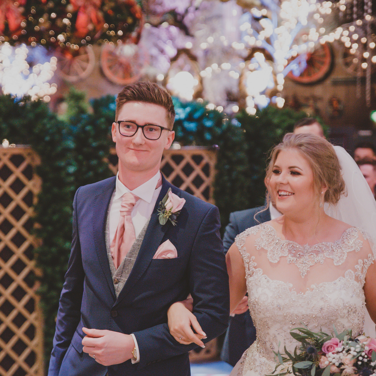 Fay Wedding - Thursford Collection at the Garden Pavilion, Norfolk. We are married