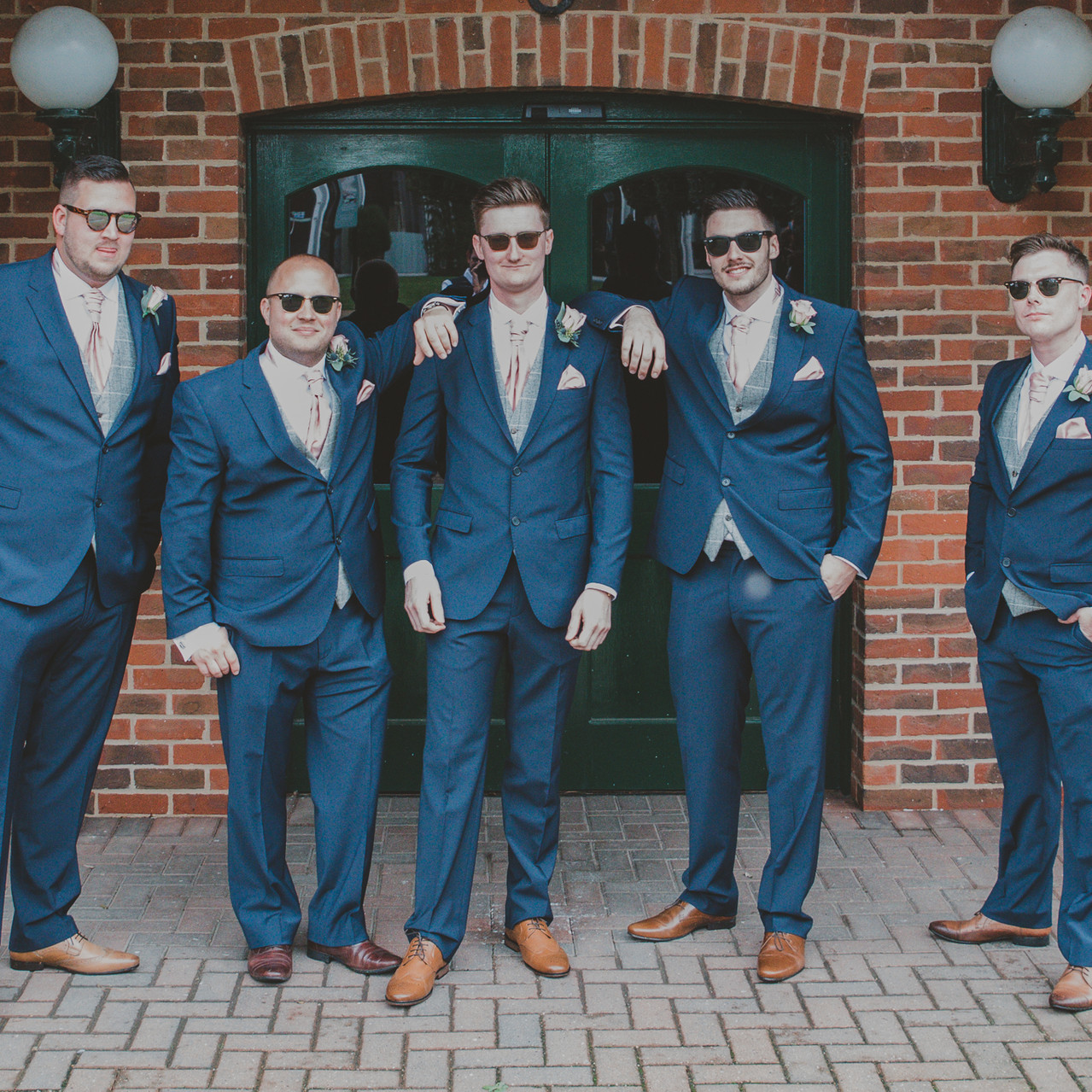 Fay Wedding - Thursford Collection at the Garden Pavilion, Norfolk. Cool Guys