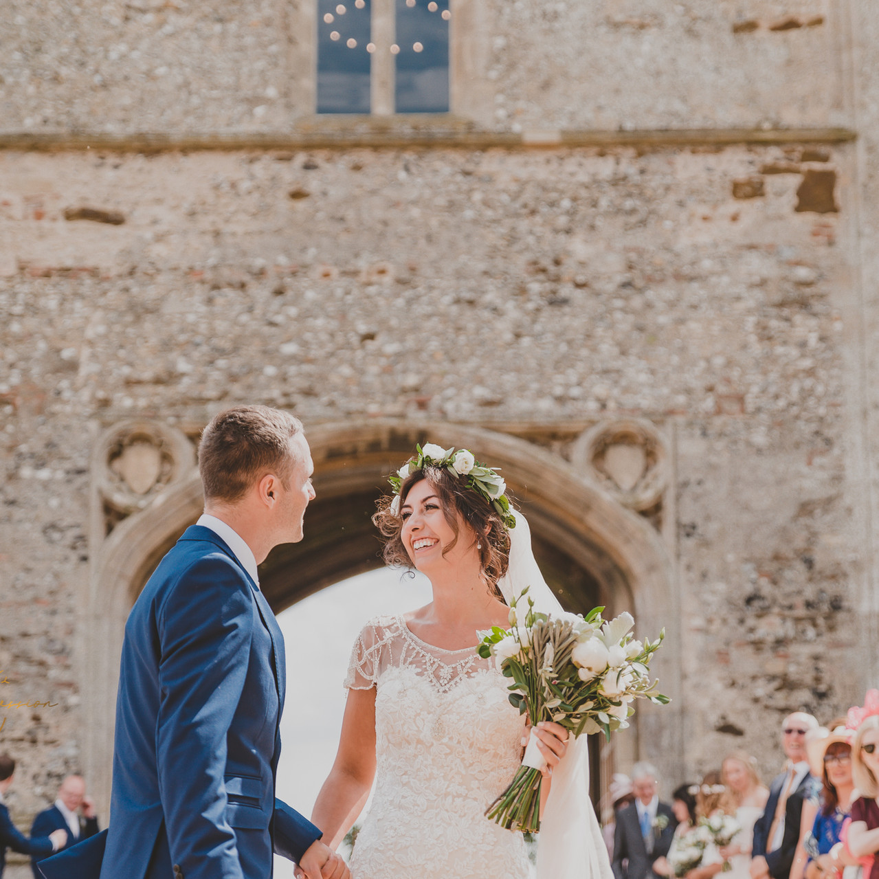 Unique Norfolk Venues – Pentney Abbey - Wedding Photography