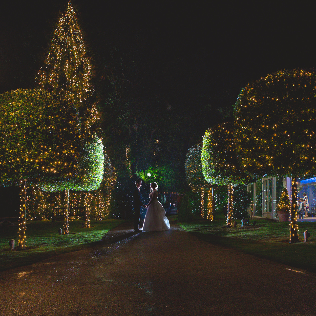 Fay Wedding - Thursford Collection at the Garden Pavilion, Norfolk. Night shots