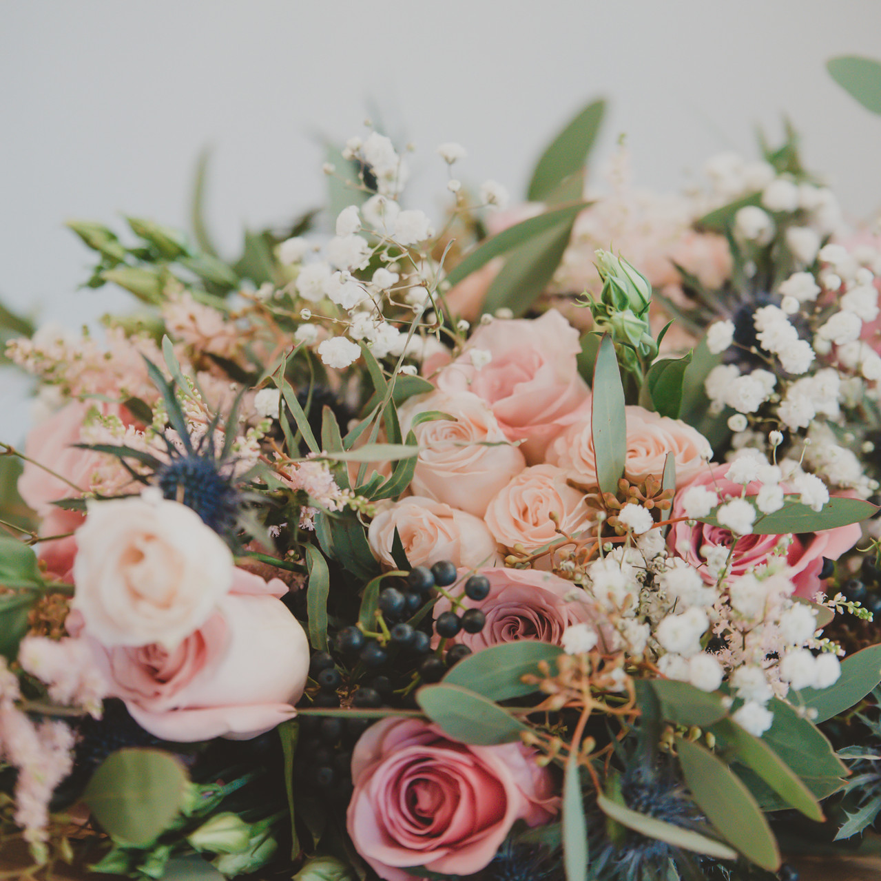 Fay Wedding - Thursford Collection at the Garden Pavilion, Norfolk. Wedding Flowers