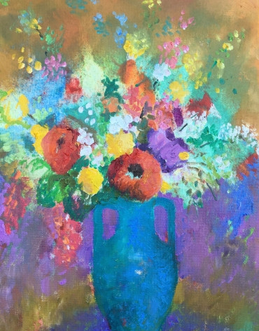 Turquise Vase