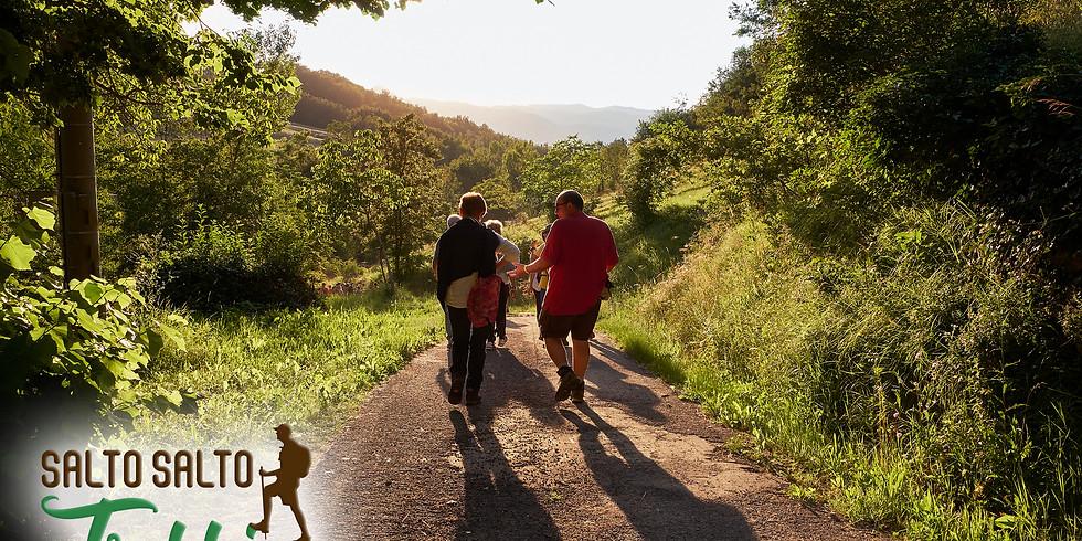 """""""RUN 5.35"""" Camminata con Salto Salto Trekking"""