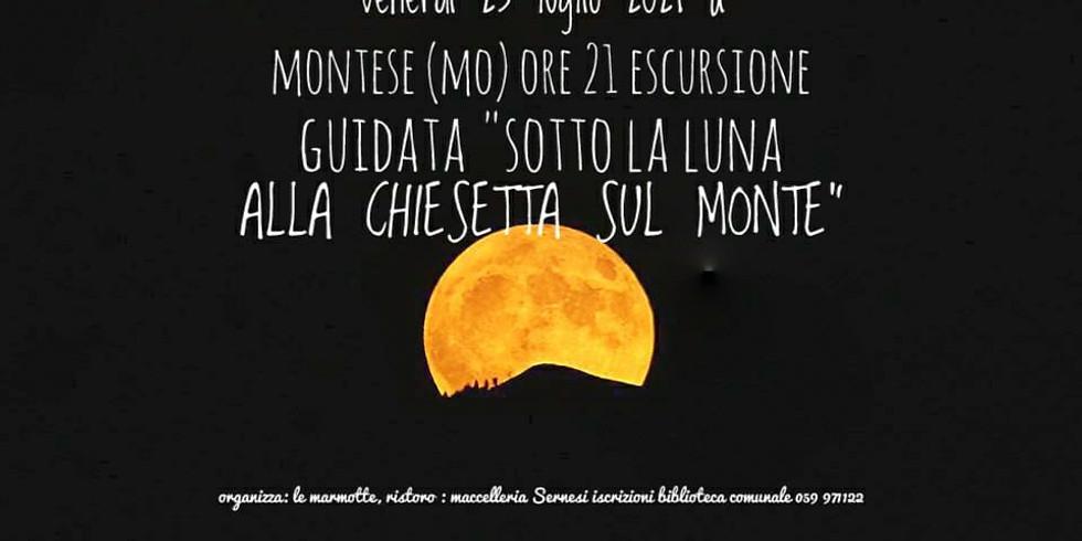 """Escursione guidata """"Casolari chiesette e luna piena"""""""