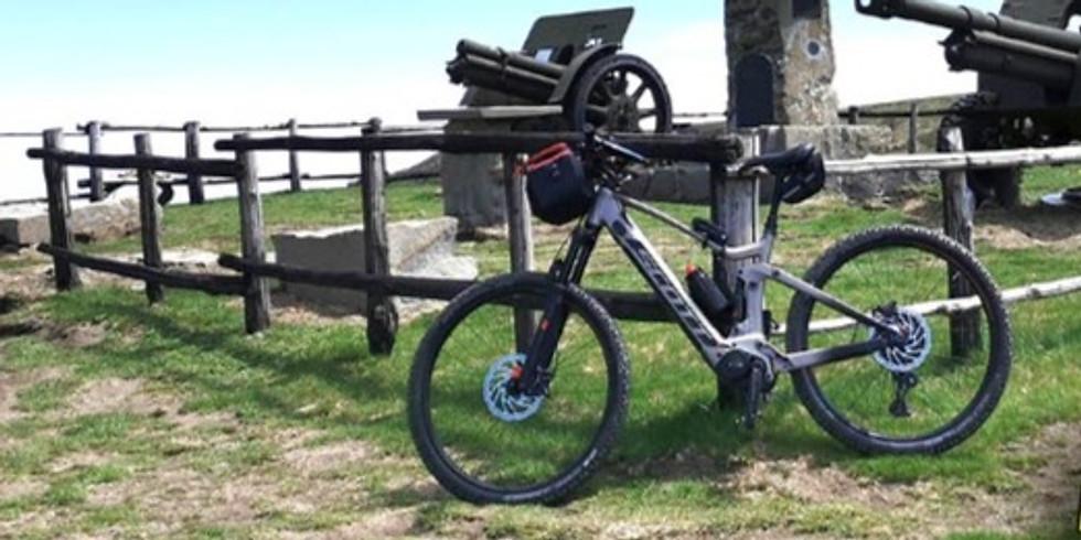 E-bike in trincea con Appennino2000 e 841
