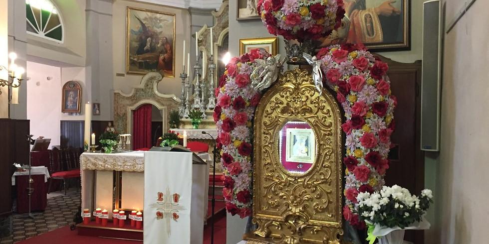 Festa della Beata Vergine della Neve - parte religiosa