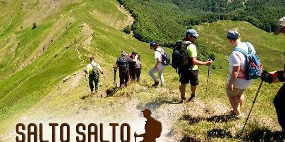 I cammini al crepuscolo con Salto Salto Trekking