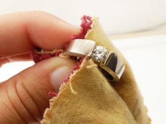 Limpieza de Joyeria de Diamantes en 4 sencillos pasos.