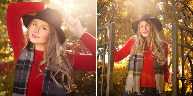 Natural Light Senior Portraits