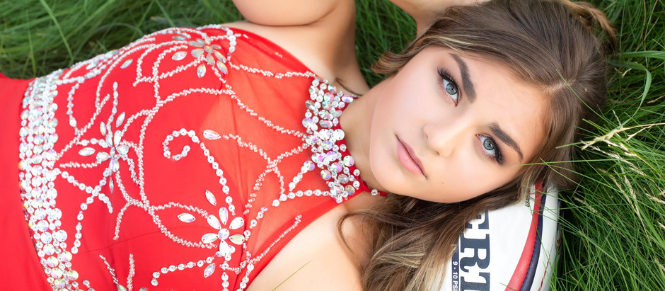 Featuring 2019 Senior model Brianna B.