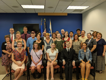 Recognizing Students: 2019 Scholarship Presentation