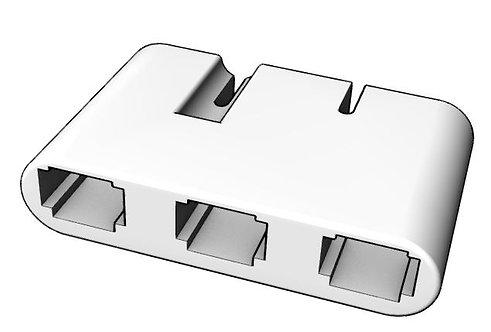 Porsche 911 CDI Connector Housing (3 pin)