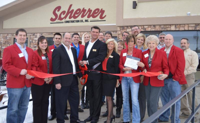 A ribbon cutting was held with the Wausau Area Chamber of Commerce.