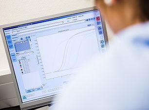 Gráfico no computador
