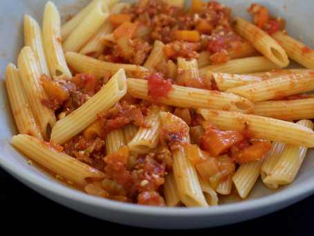 Bolognese Sauce with a Twist