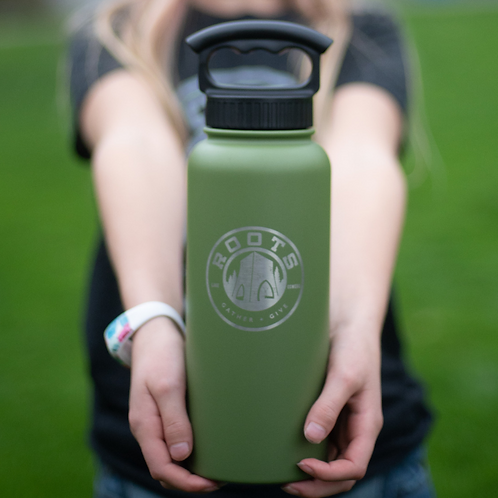 34 oz wide mouth water bottle