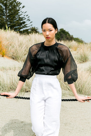 Lost in the city - Sheer Blouse