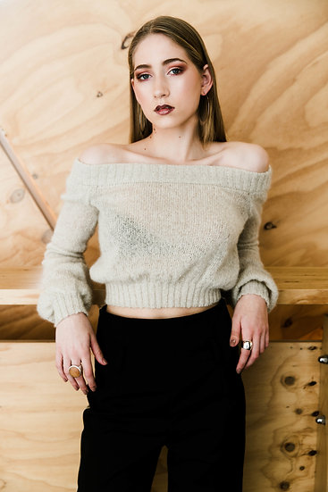 Low Down Mohair Knit