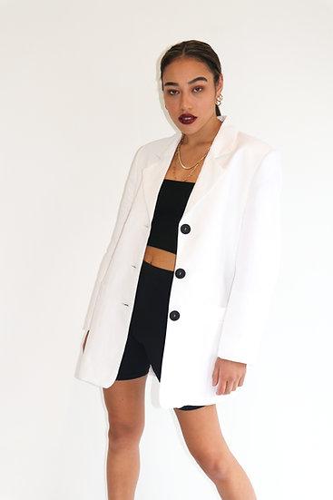 KW Blazer - White