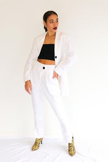 KW Pant - White