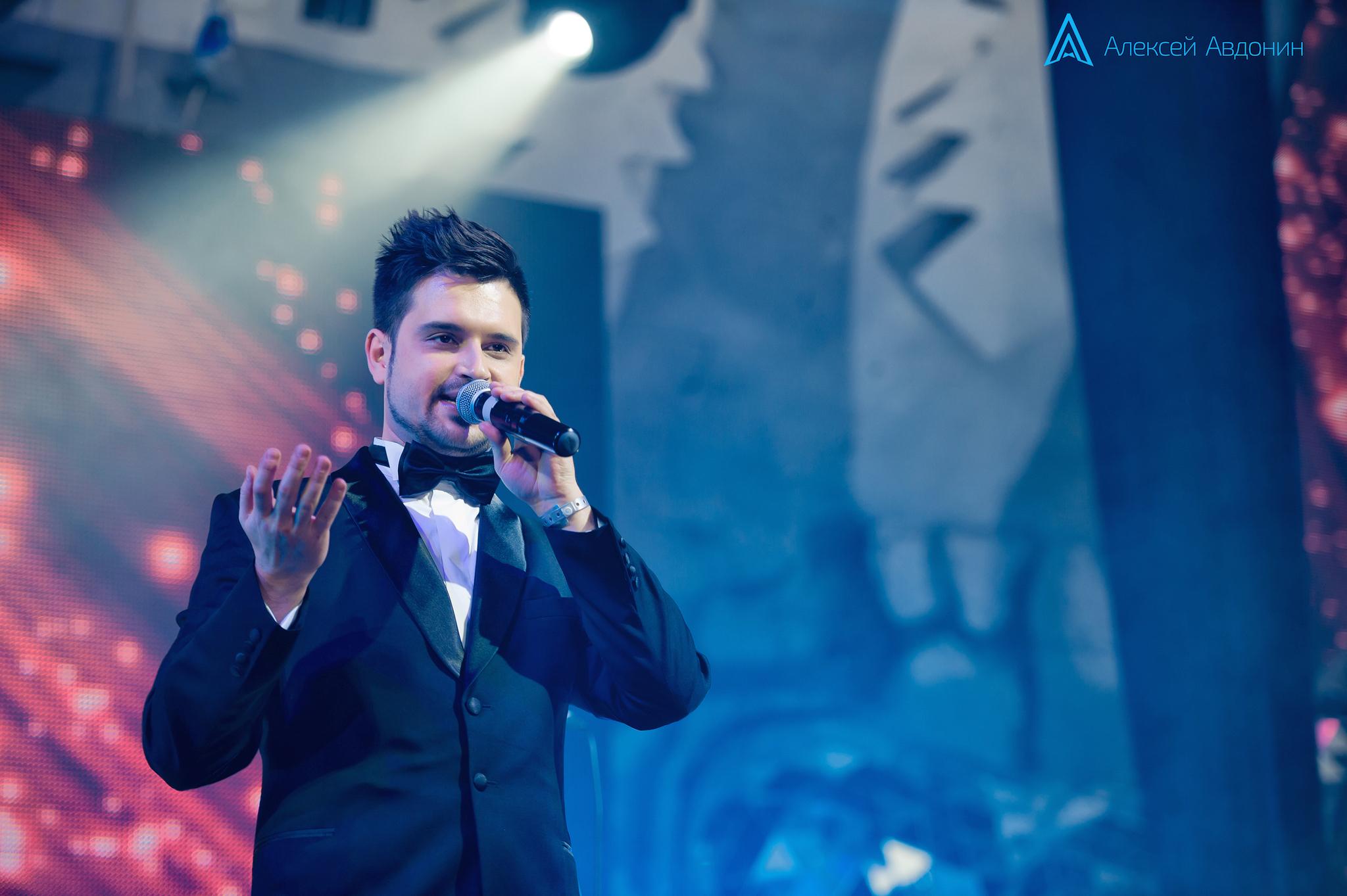Алексей Авдонин - ведущий - Новый год - Bunge - ICON
