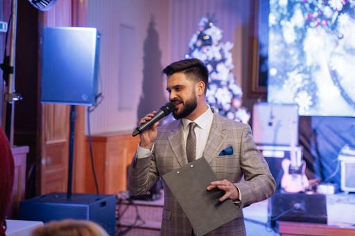 Ведущий Мероприятий Алексей Авдонин - корпоративный новый год в отеле Националь