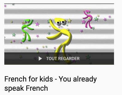French videos for kids