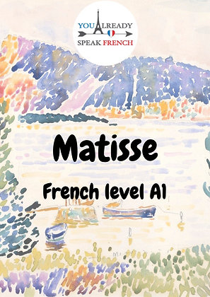 Matisse - French level A1