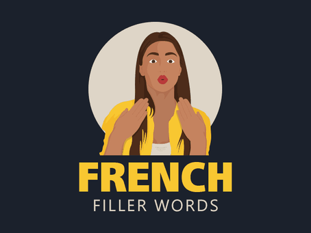 French filler words