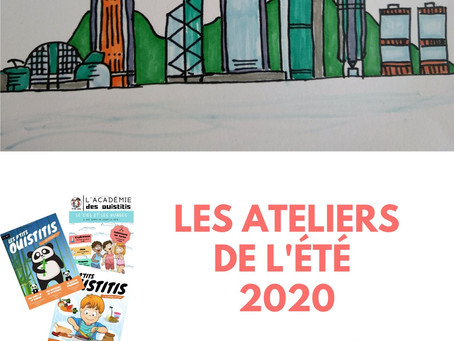 Les ateliers de l'été 2020 pour les enfants