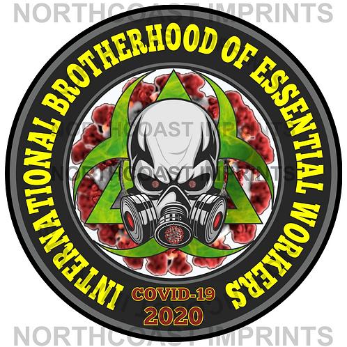 INTERNATIONAL BROTHERHOOD OF ESSENTIAL WORKERS STICKER
