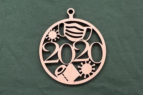 2020 COVID-19 Ornament