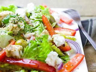 Salade croquante d'été