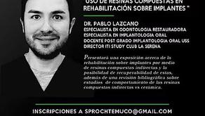 Especialista de nuestro centro es invitado por Sproch Filial Temuco a exponer en ciclo de Reuniones