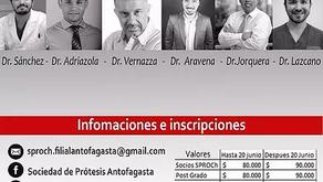 Dr. Pablo Lazcano presentará conferencia en Congreso Sproch Filial Antofagasta