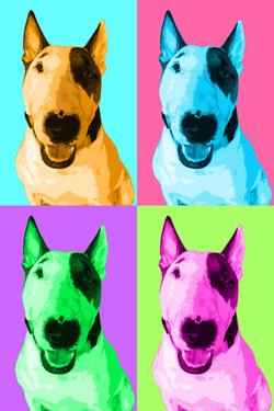 Andy Wahrol pop art pet portrait