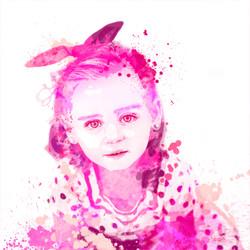 Baby pink Portrait