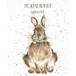wrendale bunny card
