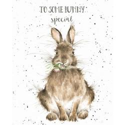 wrendale bunny card