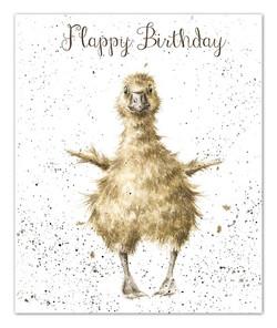 Flappy Birthday Card