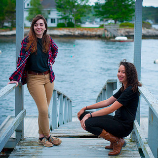 Brie and Maya - Boothbay Harbor, Maine