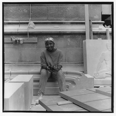 Lisa Young, Stonemason - Harlem, New York