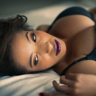 Boudoir photographer New York Bruce Caines women of color