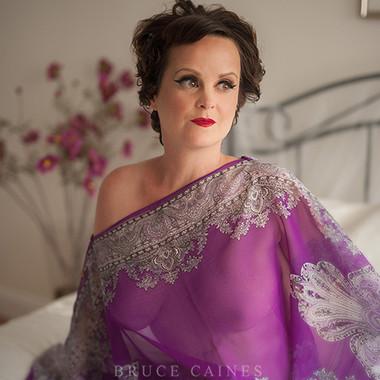 Collette Mclafferty - boudoir portrait Bruce Caines Photography