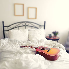 Guitar Boudoir (c) Bruce Caines